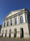 艺术大学和philharmony在Iasi,罗马尼亚 图库摄影