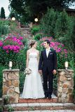 艺术婚礼 库存照片