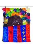 艺术子项五颜六色的被显示的s 免版税库存图片