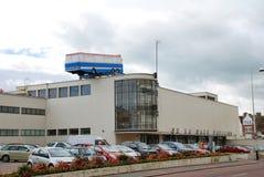 艺术安装, Bexhill在海运 免版税库存图片