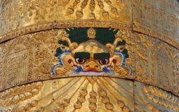 艺术宗教藏语 免版税库存照片