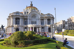 艺术宫殿在墨西哥城 库存照片