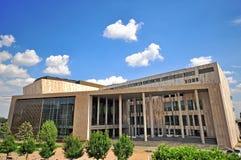 艺术宫殿在布达佩斯市,匈牙利 免版税库存照片