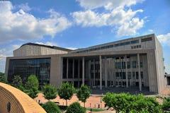 艺术宫殿在布达佩斯市 库存照片