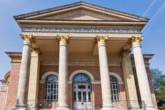 艺术宫殿在布达佩斯,匈牙利 免版税图库摄影