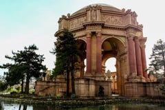艺术宫殿在旧金山加利福尼亚 图库摄影