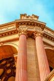 艺术宫殿在旧金山加利福尼亚 库存图片