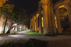 艺术宫殿在旧金山 图库摄影