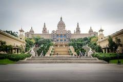艺术宫殿,巴塞罗那 图库摄影