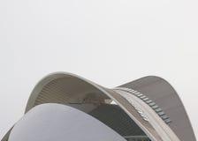 艺术宫殿, AuditoriumPalau de las artes在Ar城市 库存照片