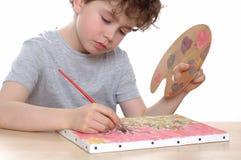 艺术家年轻人 免版税库存照片