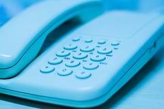 艺术家庭电话 库存照片