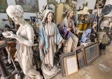 艺术家演播室、雕塑和雕象 库存照片