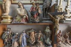 艺术家演播室、雕塑和雕象 免版税库存照片