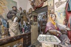 艺术家演播室、雕塑和雕象 免版税图库摄影