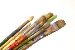 艺术家画笔 库存照片