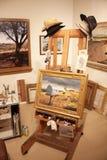 艺术家的办公室 库存图片