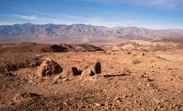 艺术家的点完美的日子死亡谷国家公园 库存照片