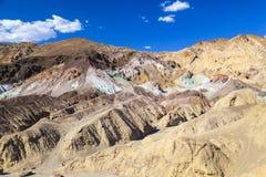 艺术家的调色板, Death Valley 免版税库存图片