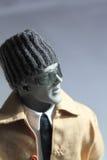 艺术家穿戴的人体模型 库存照片