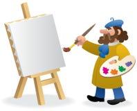 艺术家 免版税库存图片