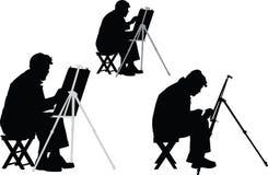 艺术家- 免版税库存照片