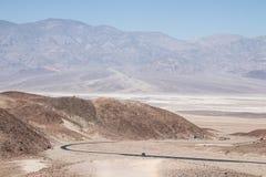 艺术家` s驱动,在死亡谷国家公园, Â加利福尼亚,单 库存图片