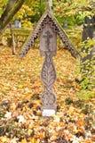 艺术家Kustodiev墓石  图库摄影