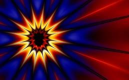 艺术展开fractal30d流行音乐 皇族释放例证