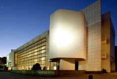 艺术巴塞罗那当代macba博物馆 库存图片