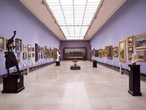 艺术布料画廊大厅克拉科夫波兰 库存图片