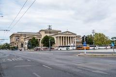 艺术布达佩斯细致的博物馆 免版税库存照片