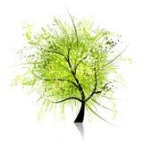 艺术幻想结构树 向量例证