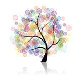 艺术幻想结构树 皇族释放例证