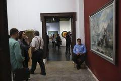 艺术徒步旅行队-公平布加勒斯特的艺术 库存照片