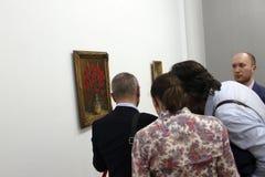 艺术徒步旅行队-公平布加勒斯特的艺术 库存图片