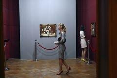 艺术徒步旅行队-公平布加勒斯特的艺术 免版税库存照片
