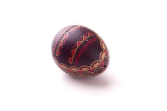 艺术性地色的复活节彩蛋 图库摄影