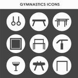 艺术性的体操设备 库存照片