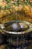 艺术性的喷泉 库存照片