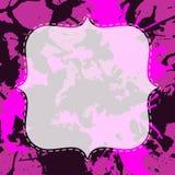 艺术性的油漆飞溅模板 免版税图库摄影