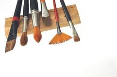 艺术性的画笔 免版税库存图片