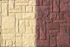 艺术性的砂岩墙壁纹理背景样式 库存图片