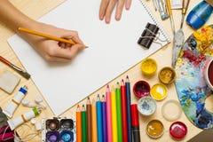 艺术性的背景是4 免版税库存图片