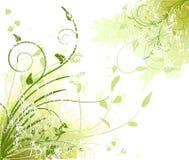 艺术性的背景花卉向量 免版税库存照片