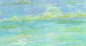 艺术性的背景 抽象天空纹理 库存照片