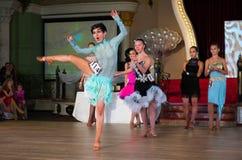 艺术性的舞蹈授予2012-2013 免版税图库摄影