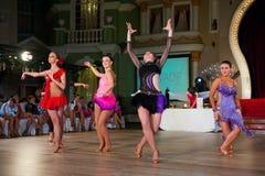 艺术性的舞蹈授予2012-2013 库存图片