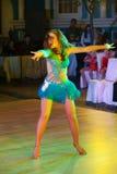 艺术性的舞蹈授予2014-2015 免版税库存图片