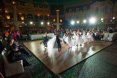 艺术性的舞蹈授予2014-2015 图库摄影